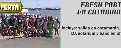 Fresh Party Catamaran Salou